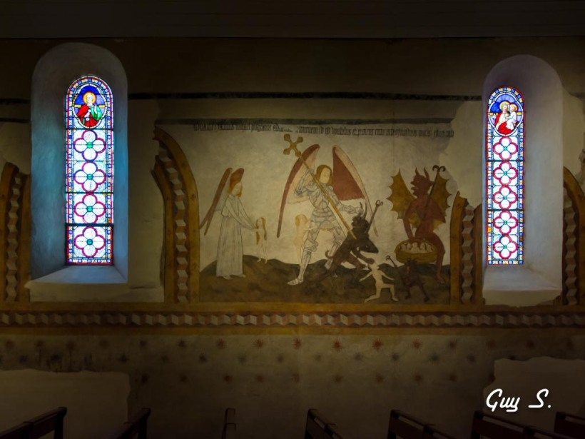 peintures murales du 15e siècle