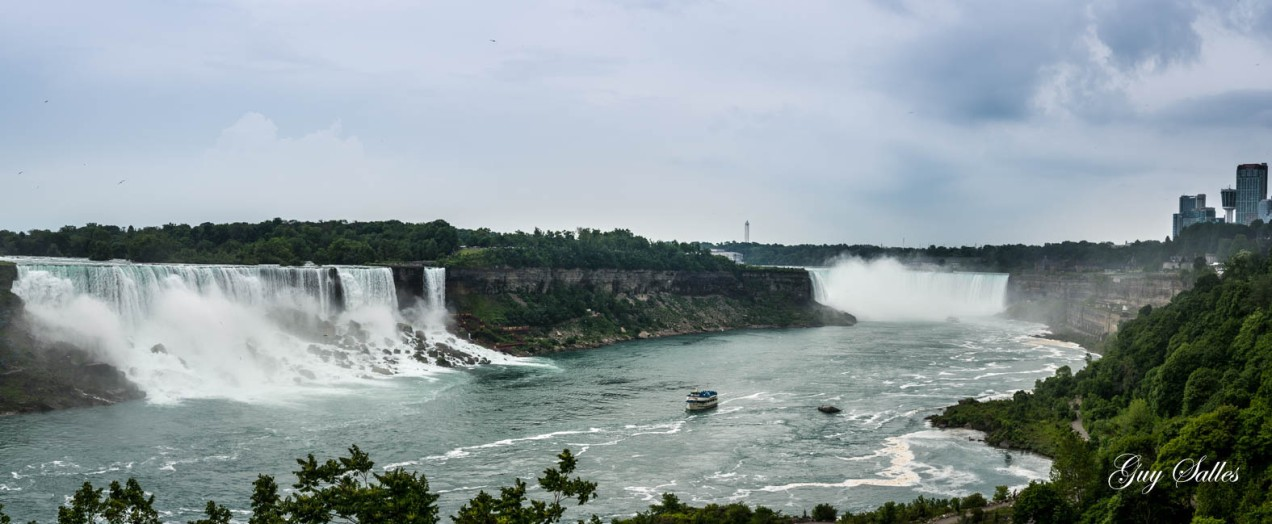 panorama chutes niagara-