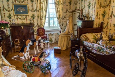 chambre d'enfant époque Napoléon III
