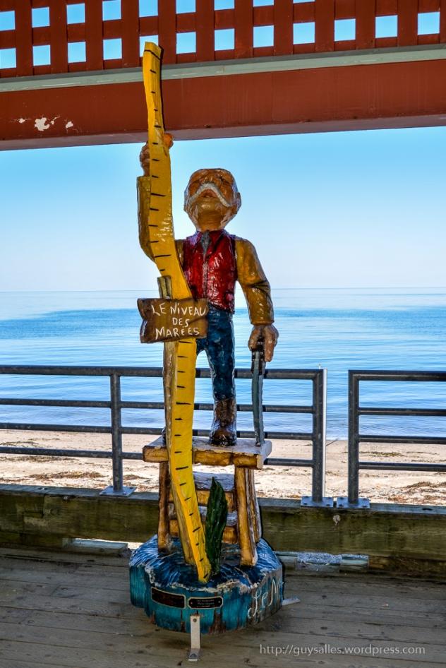 Le mesureur de marées - Michel Campeau 2012